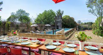 Terrasses et cuisine d'été